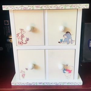 Winnie The Pooh Decorative Jewelry Box